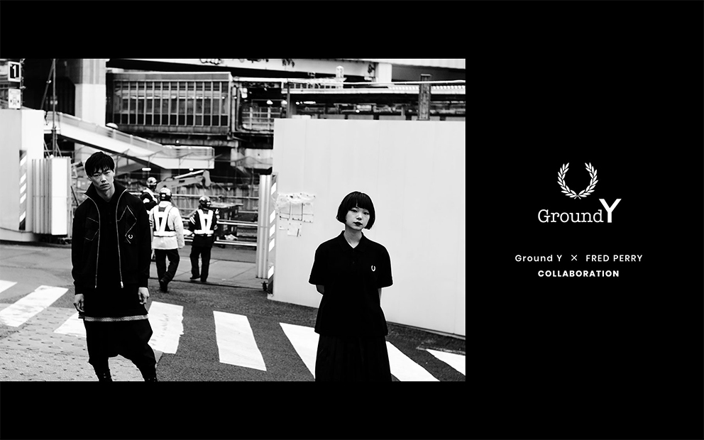 Ground Y x FRED PERRY合作