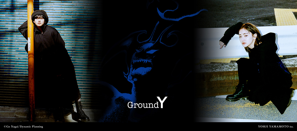 Ground Y × Devil Man Collaboration