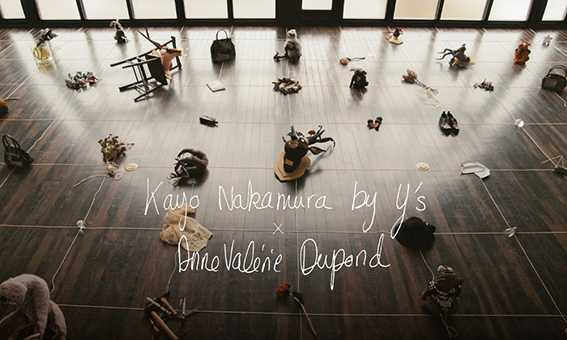 Y's | KAYO NAKAMURA by Y's × Anne-Valerie Dupond Capsule collection