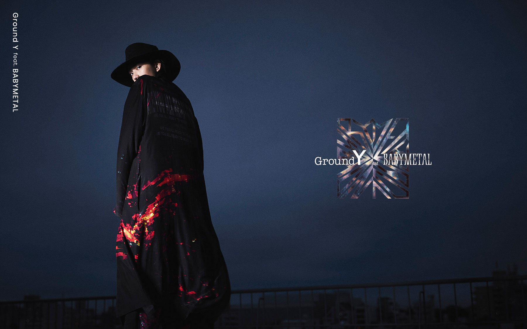 "Ground Y feat. BABYMETAL ""GALAXY"" Collection"