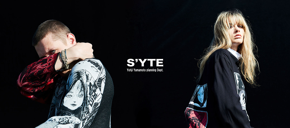 S'YTE × Junji ITO 20-21AW Collection
