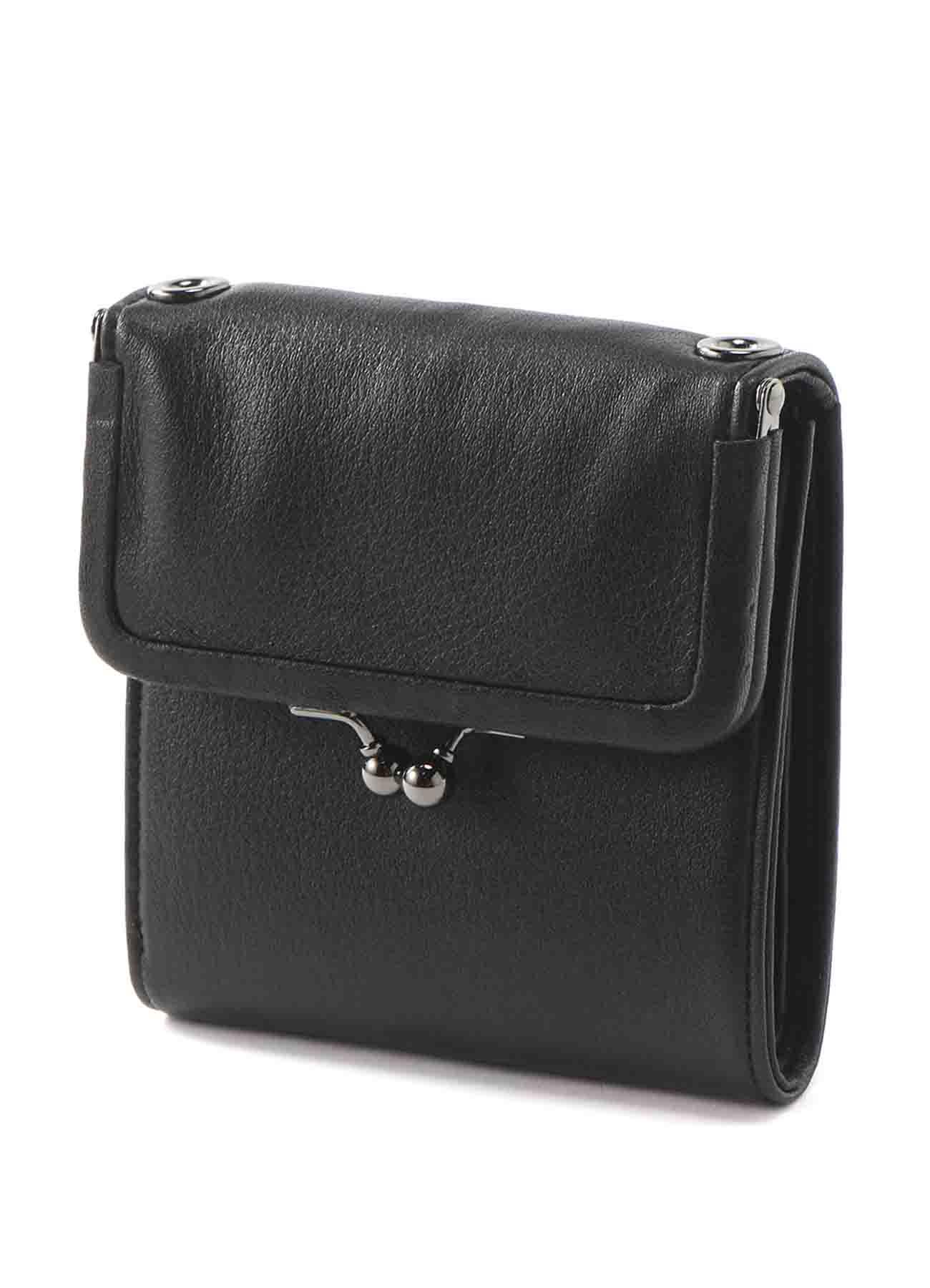 Clasp wallet shoulder(S)