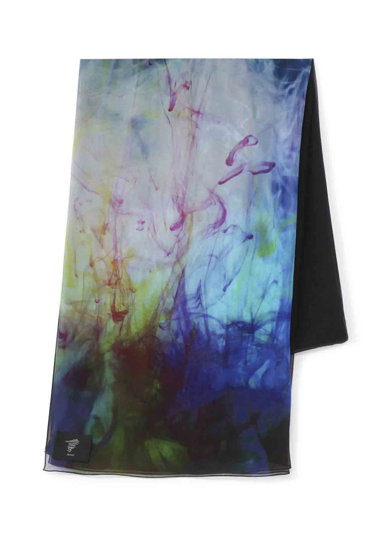 颜料围巾C