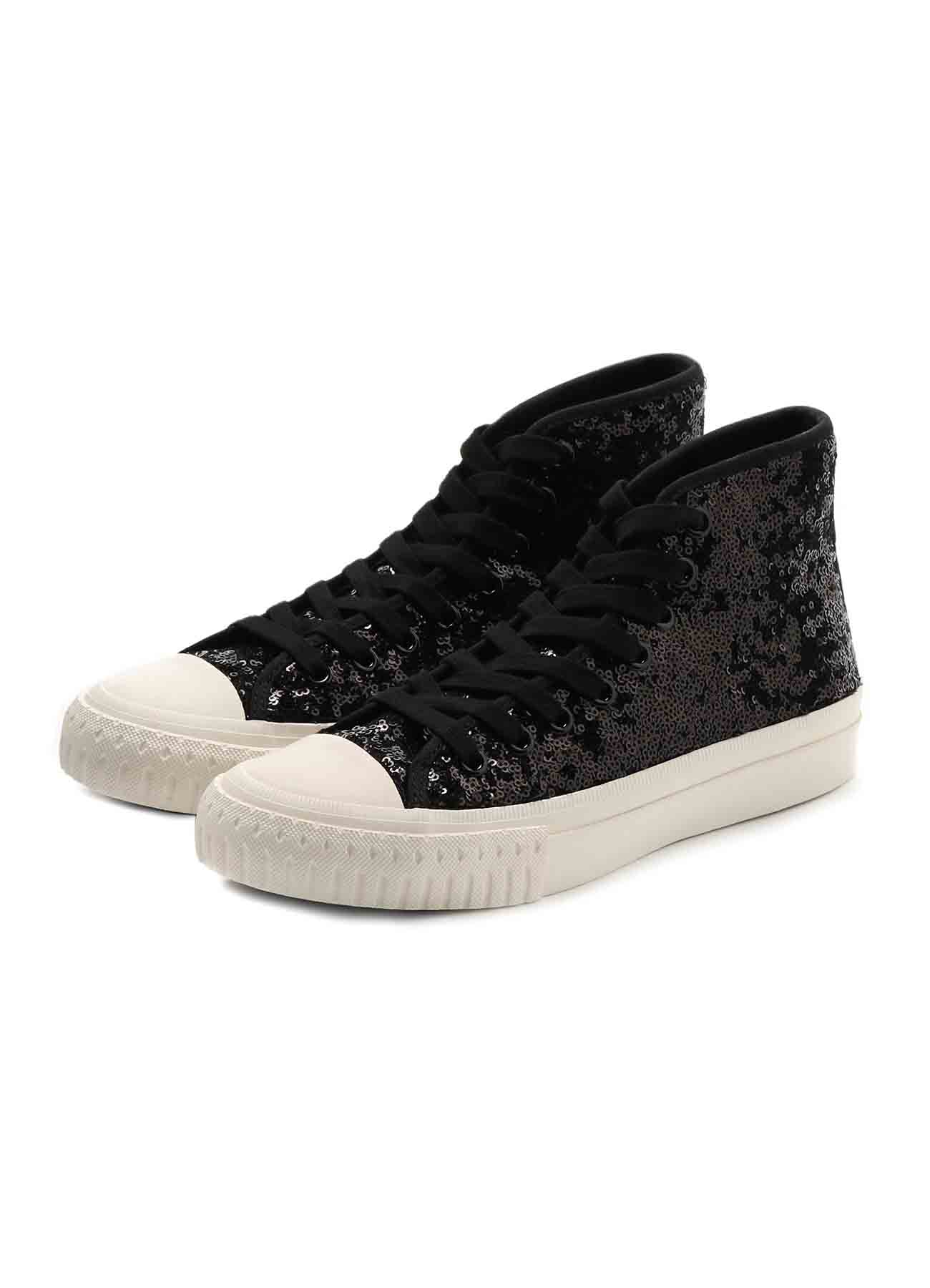 P SPANGLE HIGHTOP SNEAKER