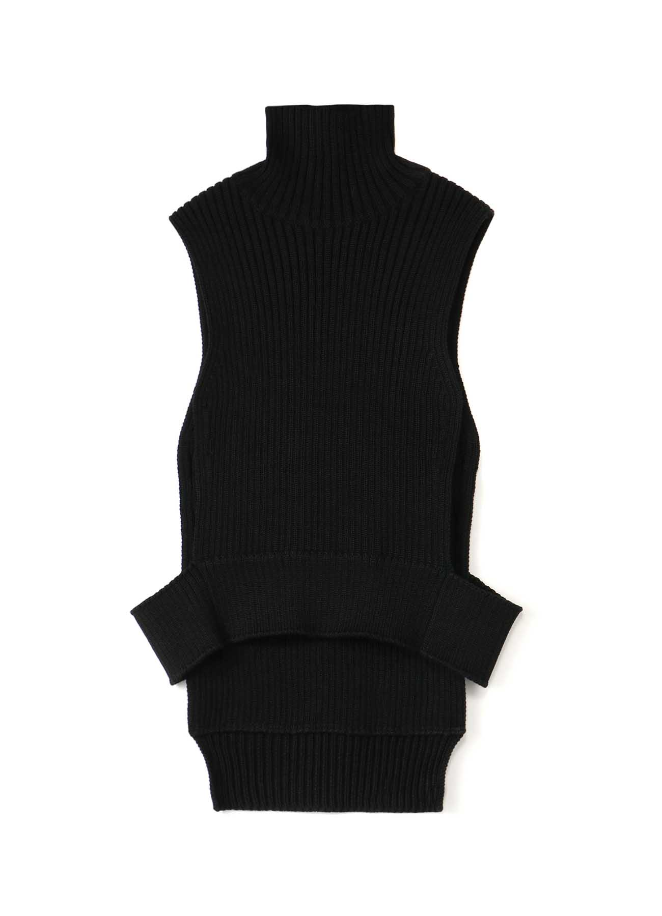 2/47 AIR WOOL R-HIGH NECK VEST