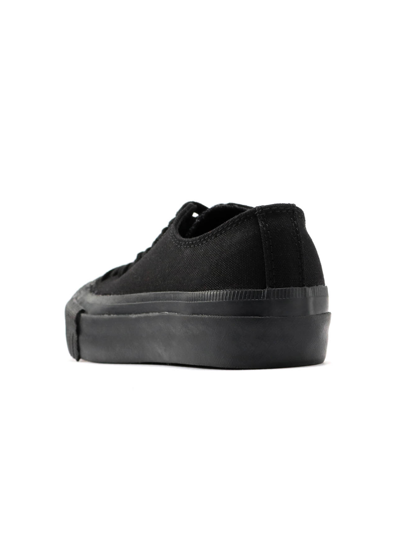 NO.9 CANVAS LACE UP LOW TOP SNEAKER