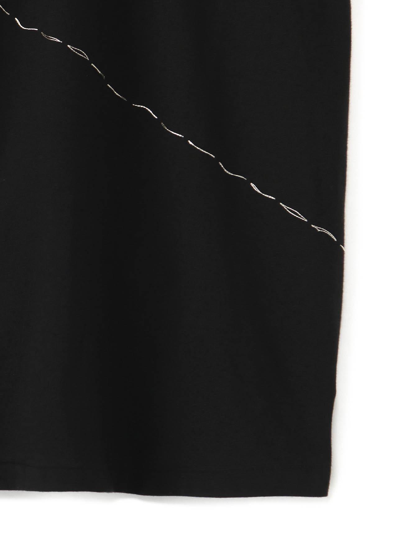30/- soft cotton SILVER stitch Tee