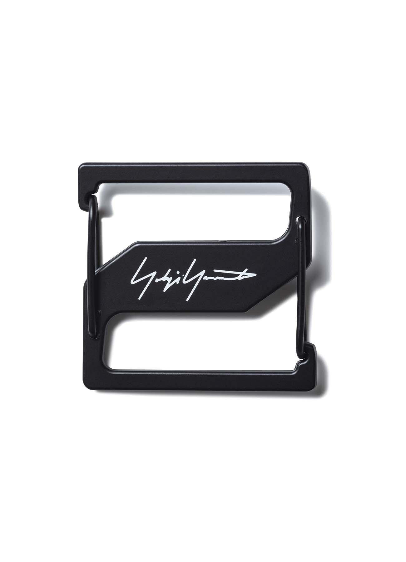 Yohji Yamamoto × New Era 1680D/BKPE Rucksack Metal Plate
