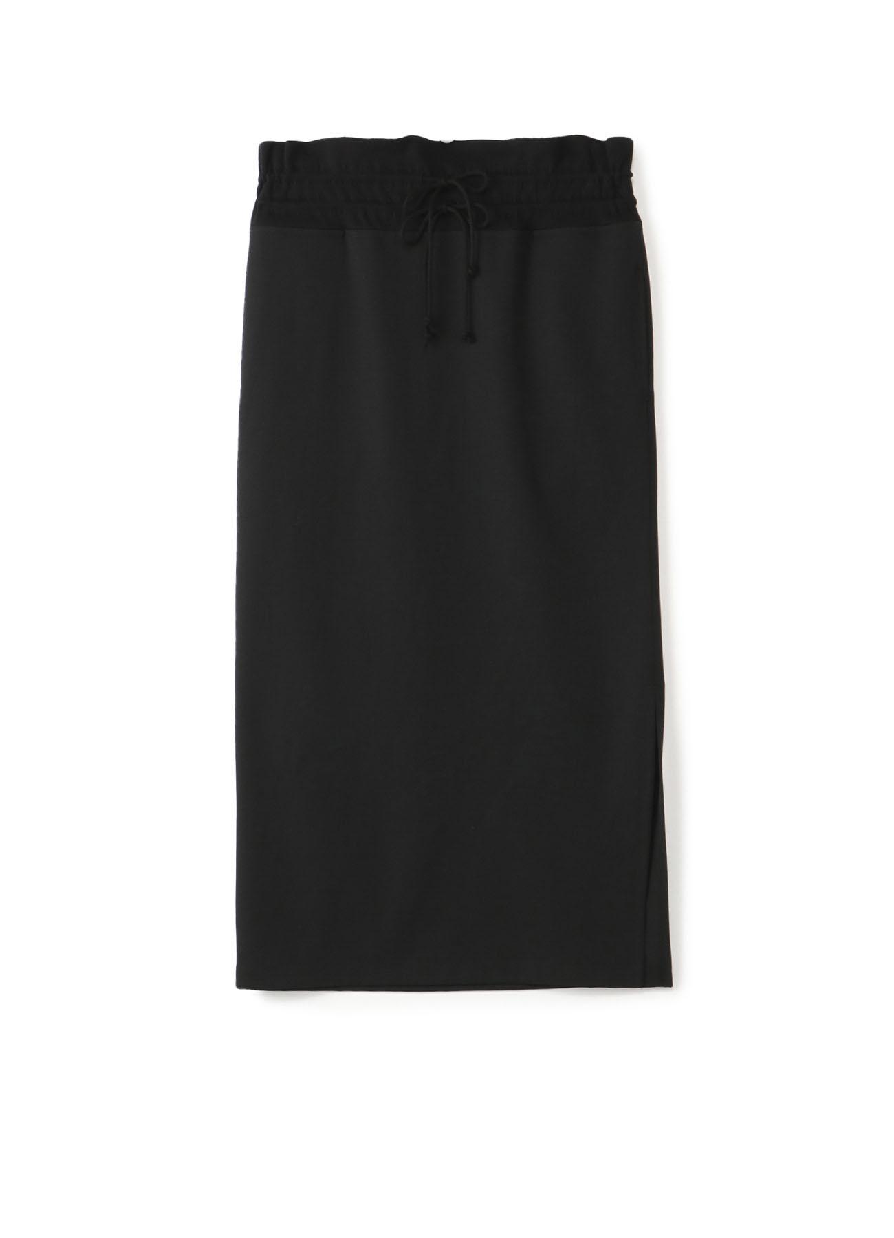 シワギャバウエストヒモタイトスカート