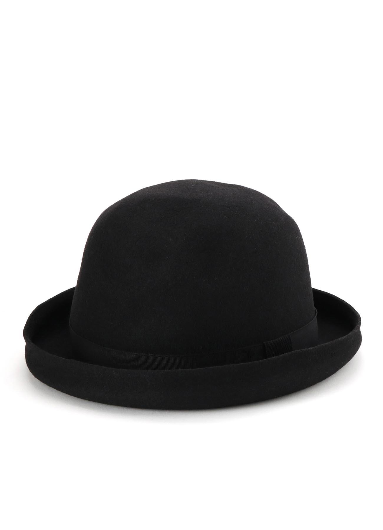 ウールフェルト帽体マウンテンハット