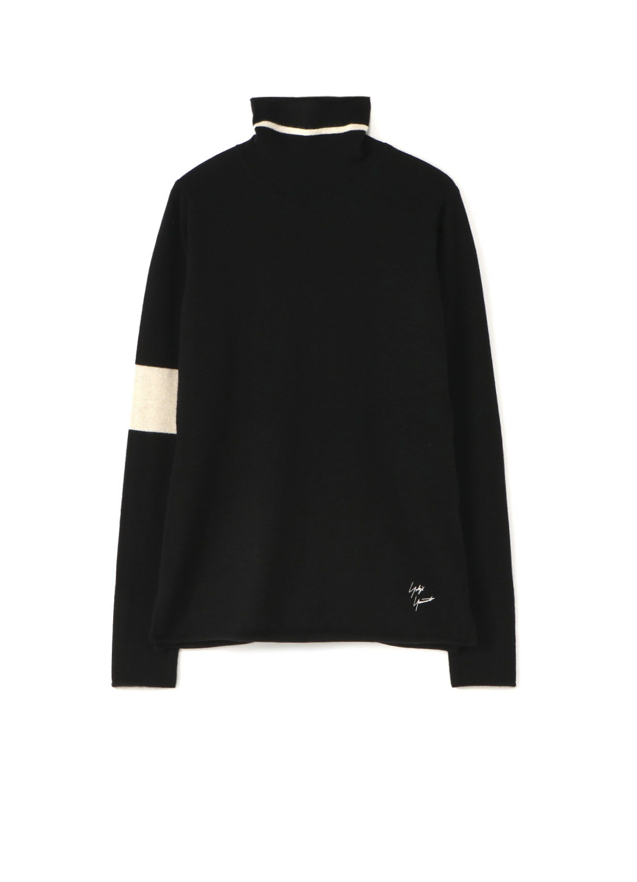 12G1P PS ENBROIDERY YOHJI TURTLE NECK