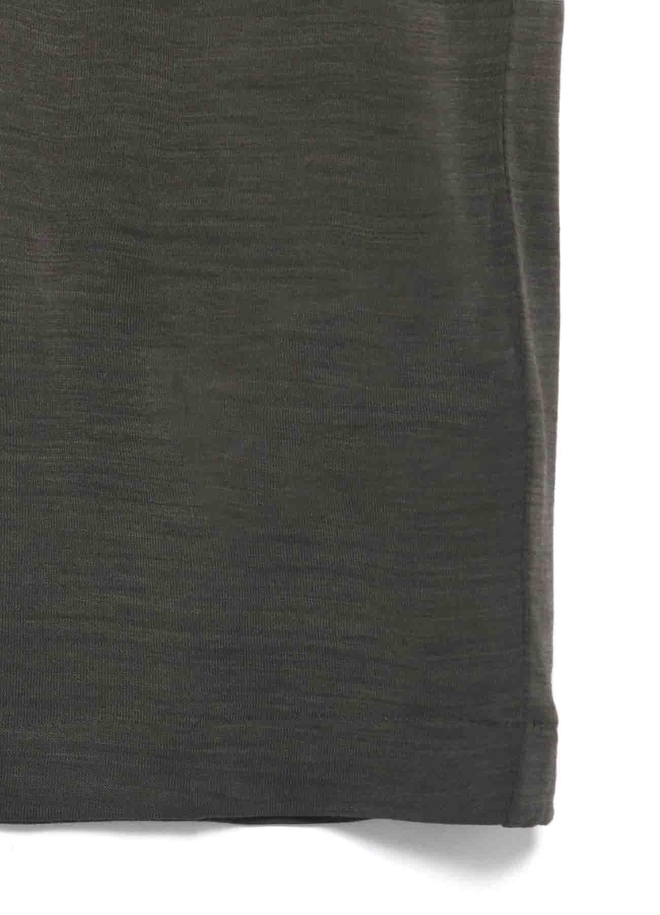 ウールコズモラマ丸首長袖