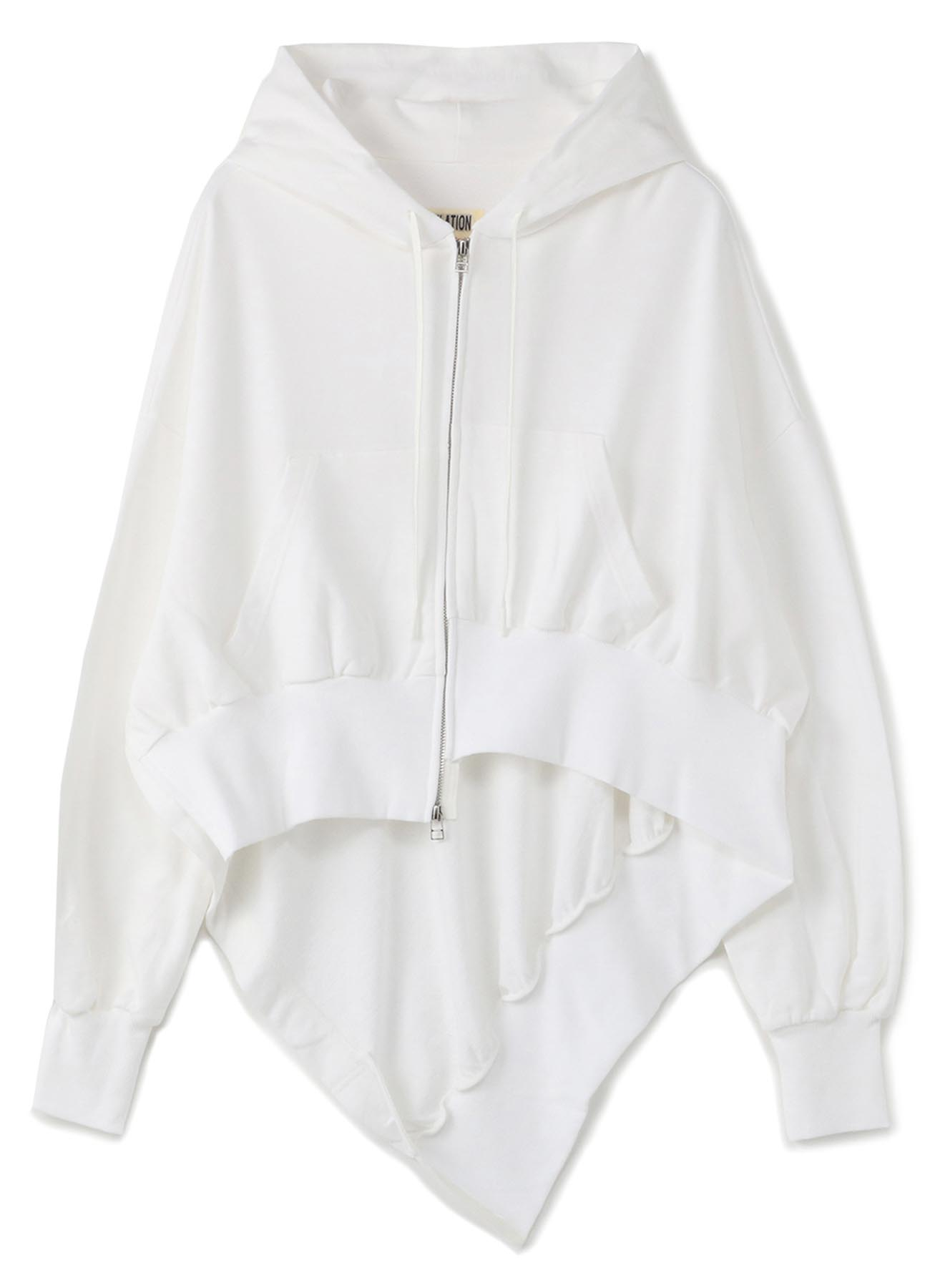 MINI FLEECE R-ASYMME HOODY