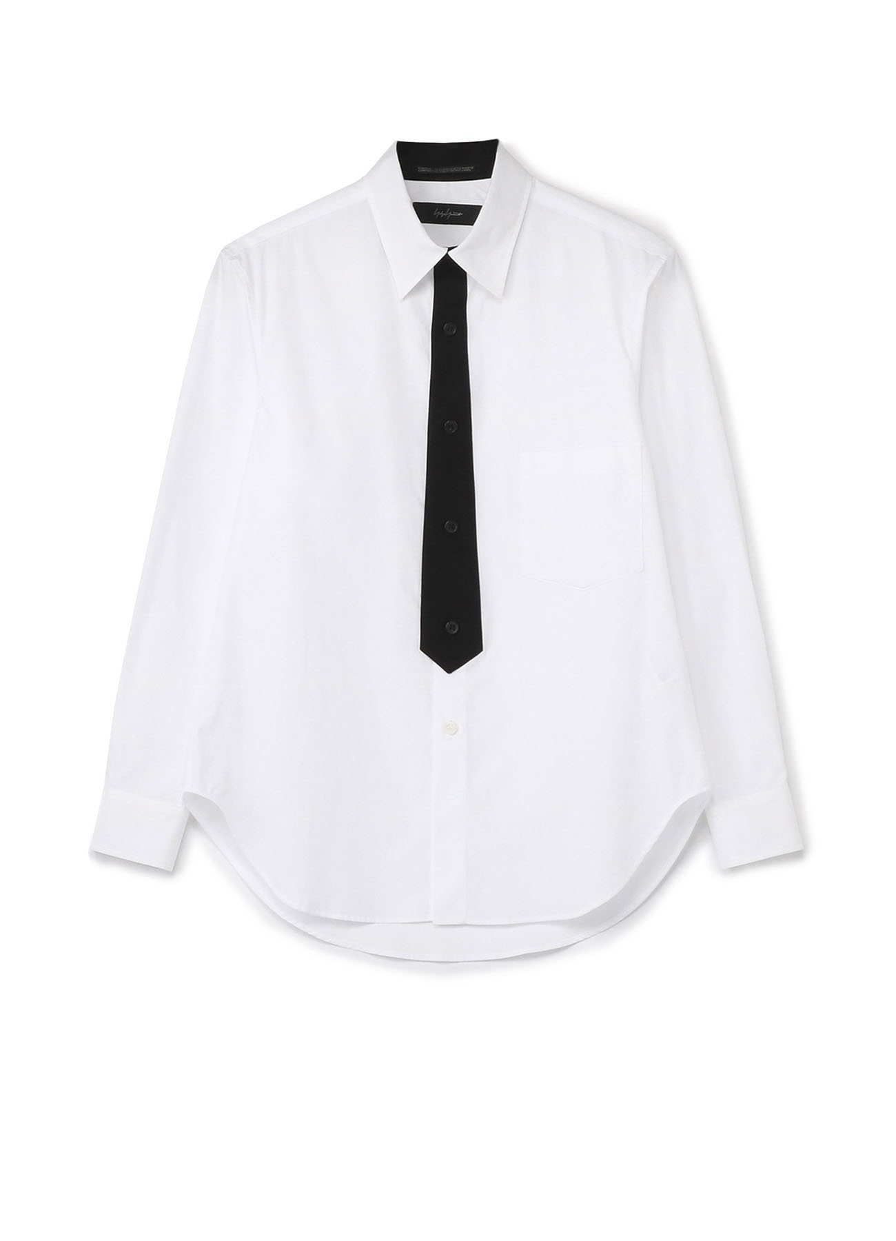 100/2 BROAD TIE FRONT FLY SHIRT