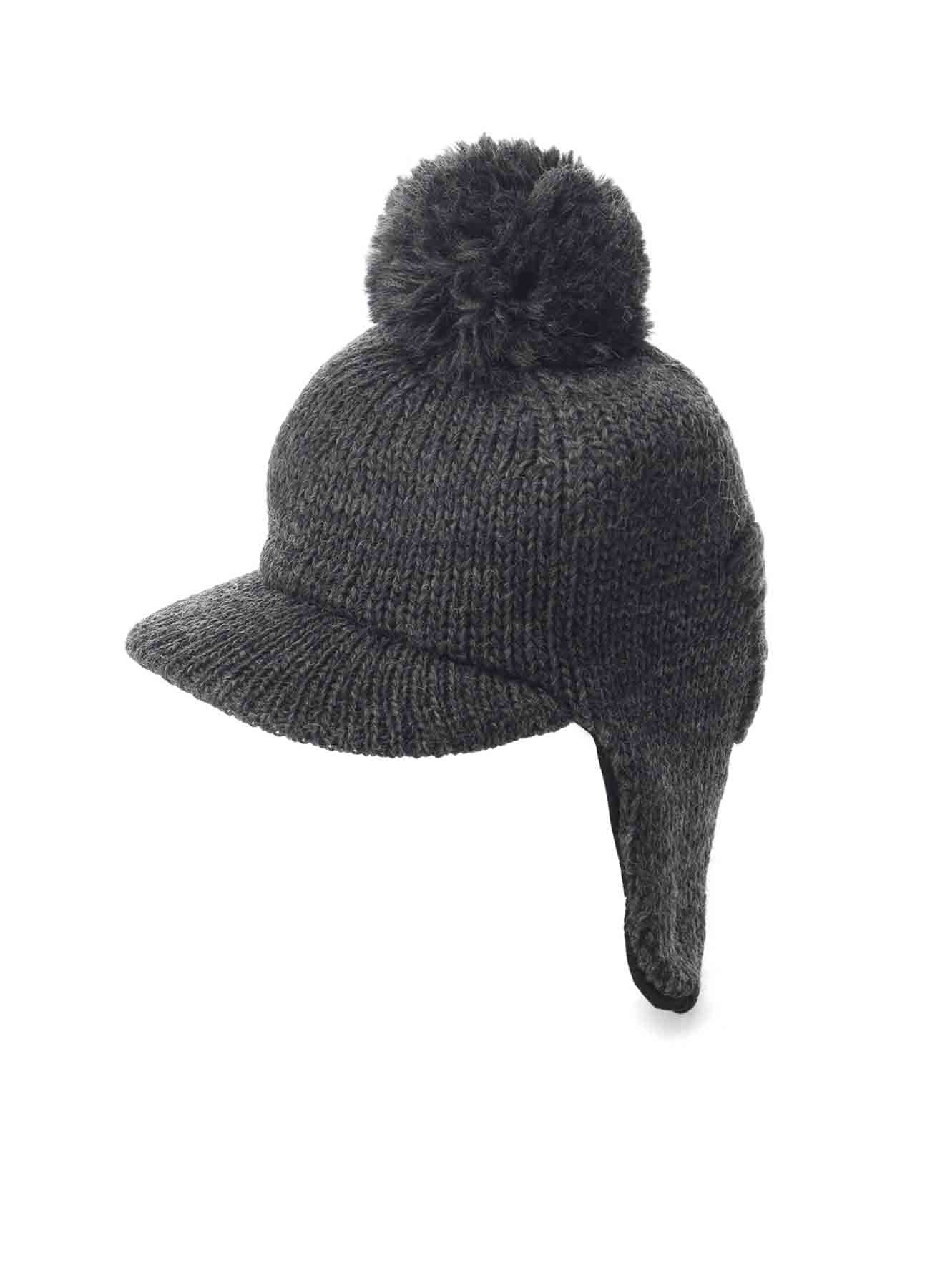 1/3 W EMBROIDERED PILOT KNIT CAP
