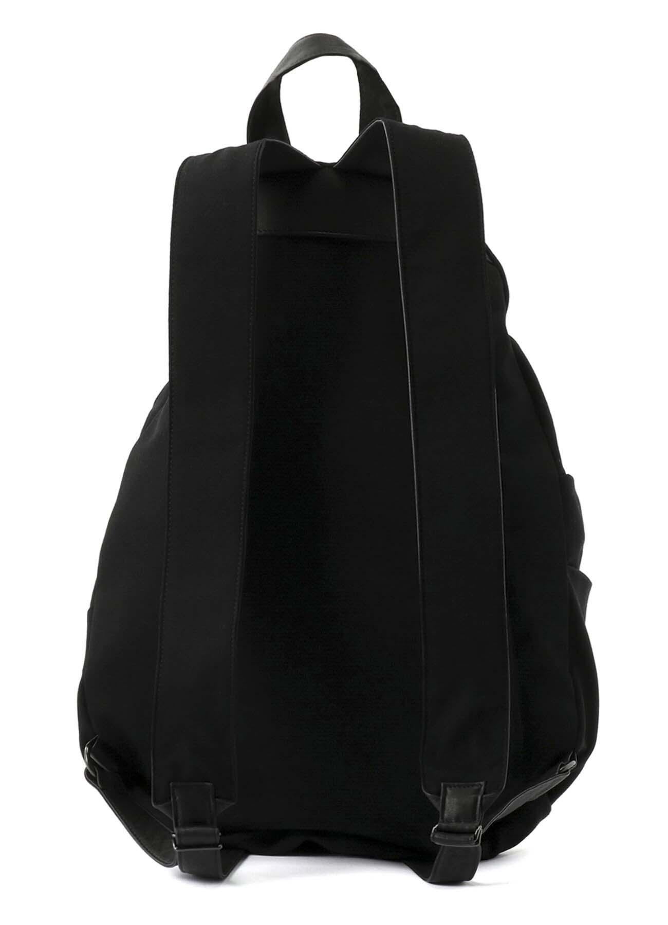 WOOL GABARDINE DRAPE-BAG