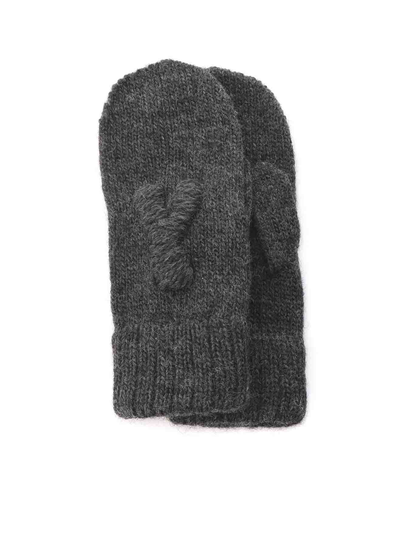 1/3 W EMBROIDERED KNIT GLOVE