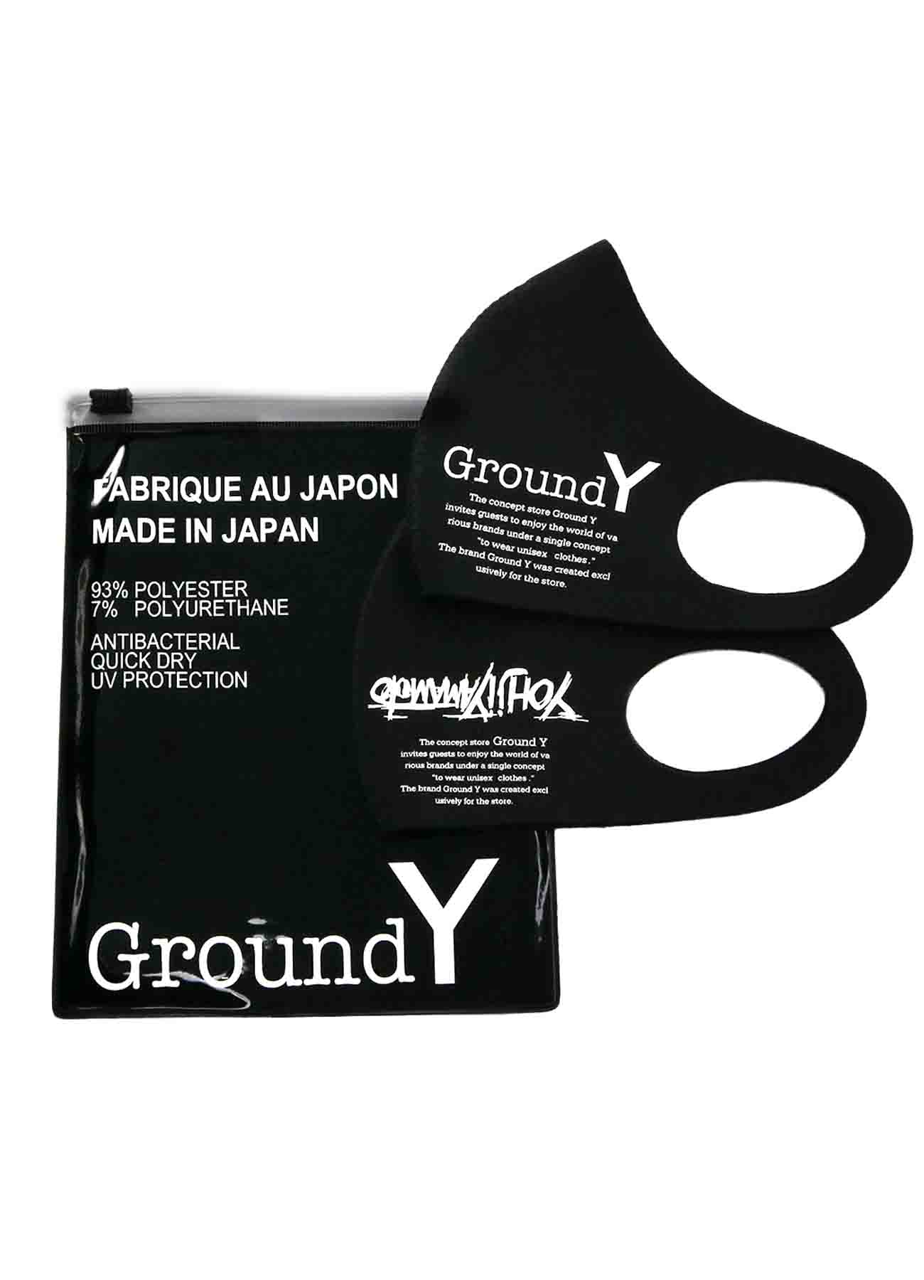 2pack Mask Ground Y / Yohji Yamamoto Logo