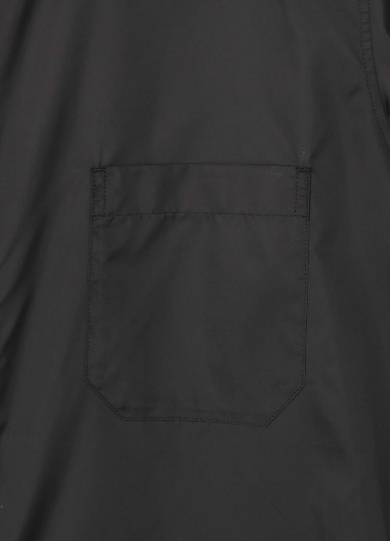 涤塔夫绸徽标长礼服衬衫
