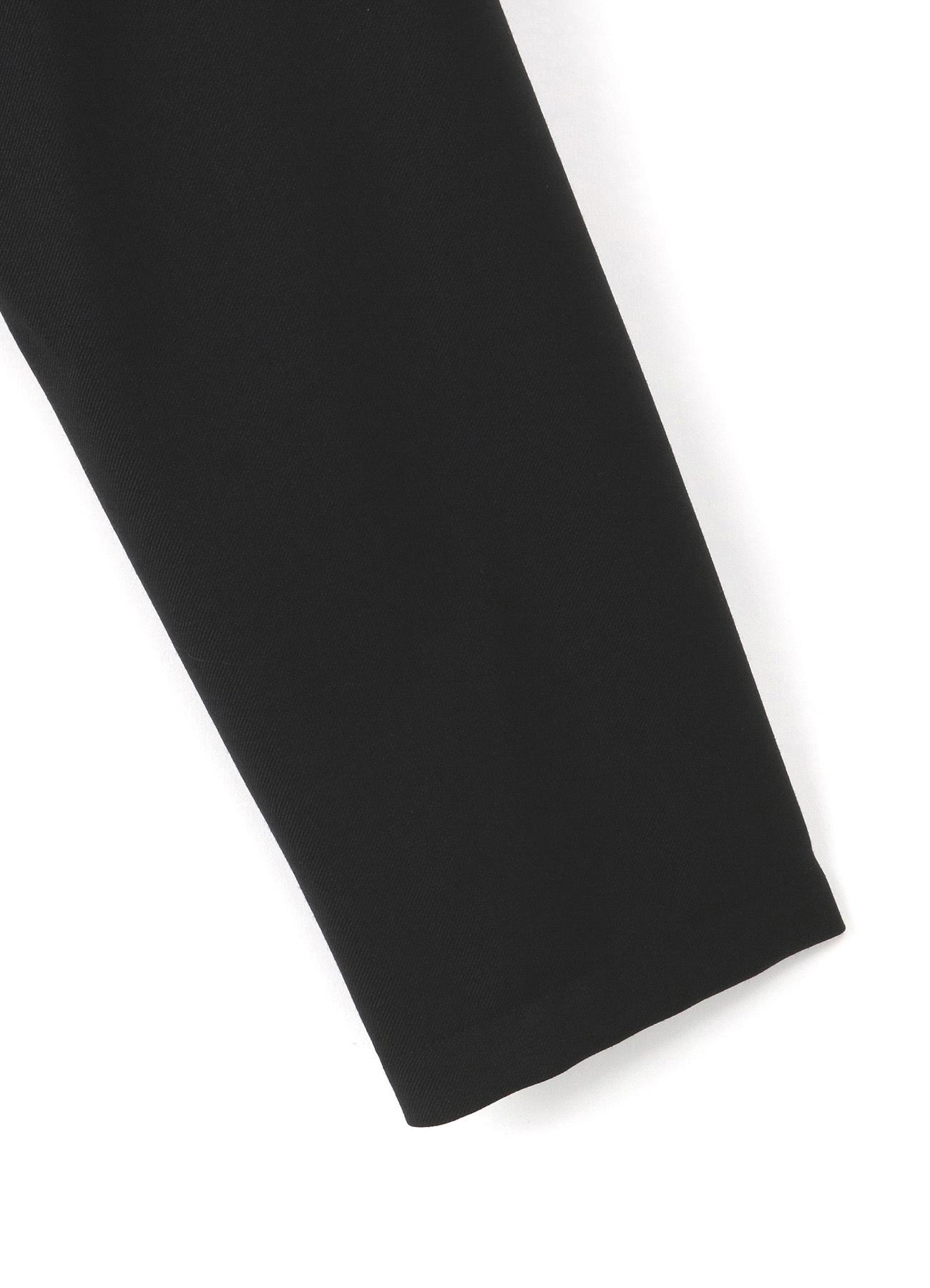 T/W Gabardine Rib Collar Long Shirt