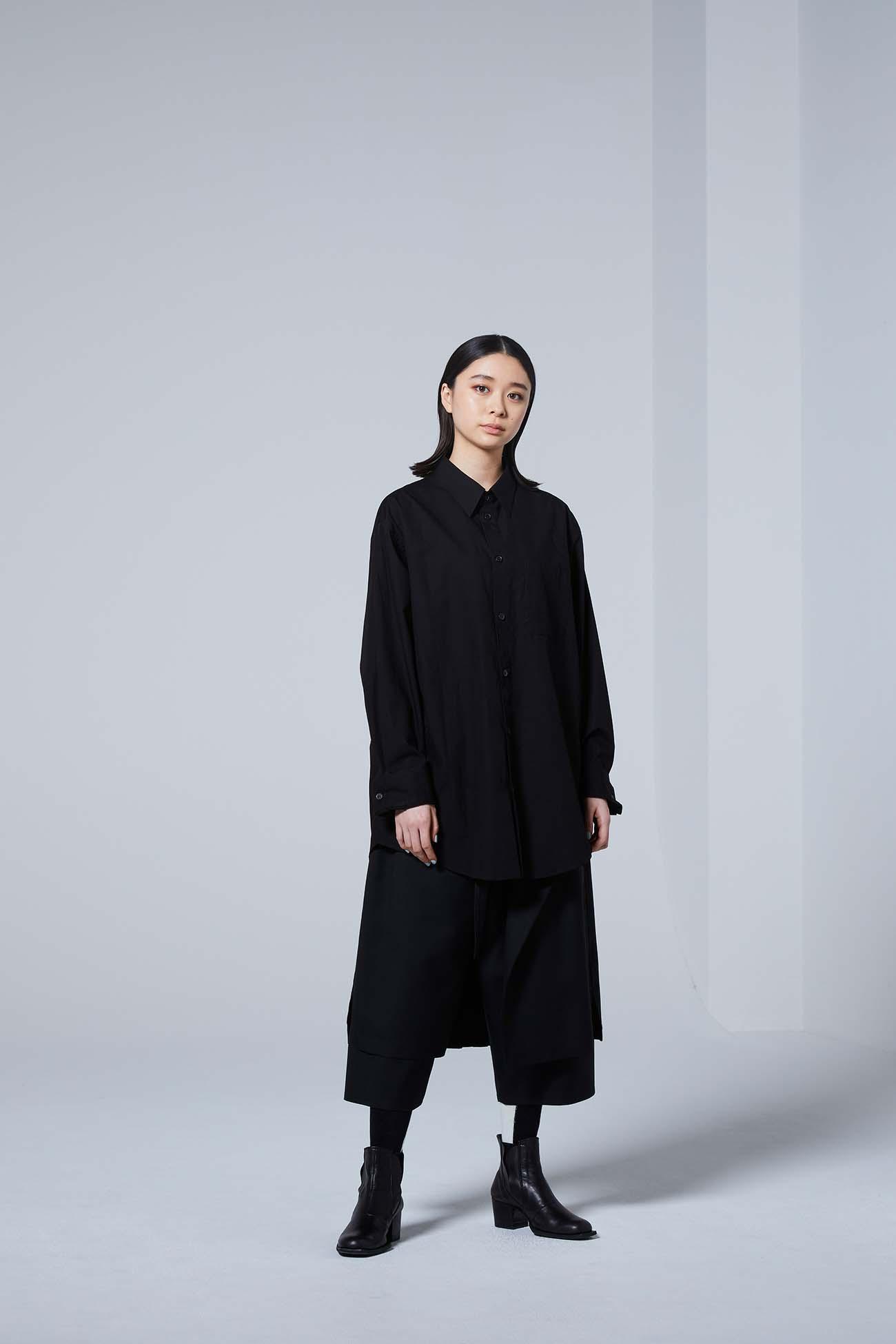 Yohji Yamamoto Upside Down LOGO Basic Shirt