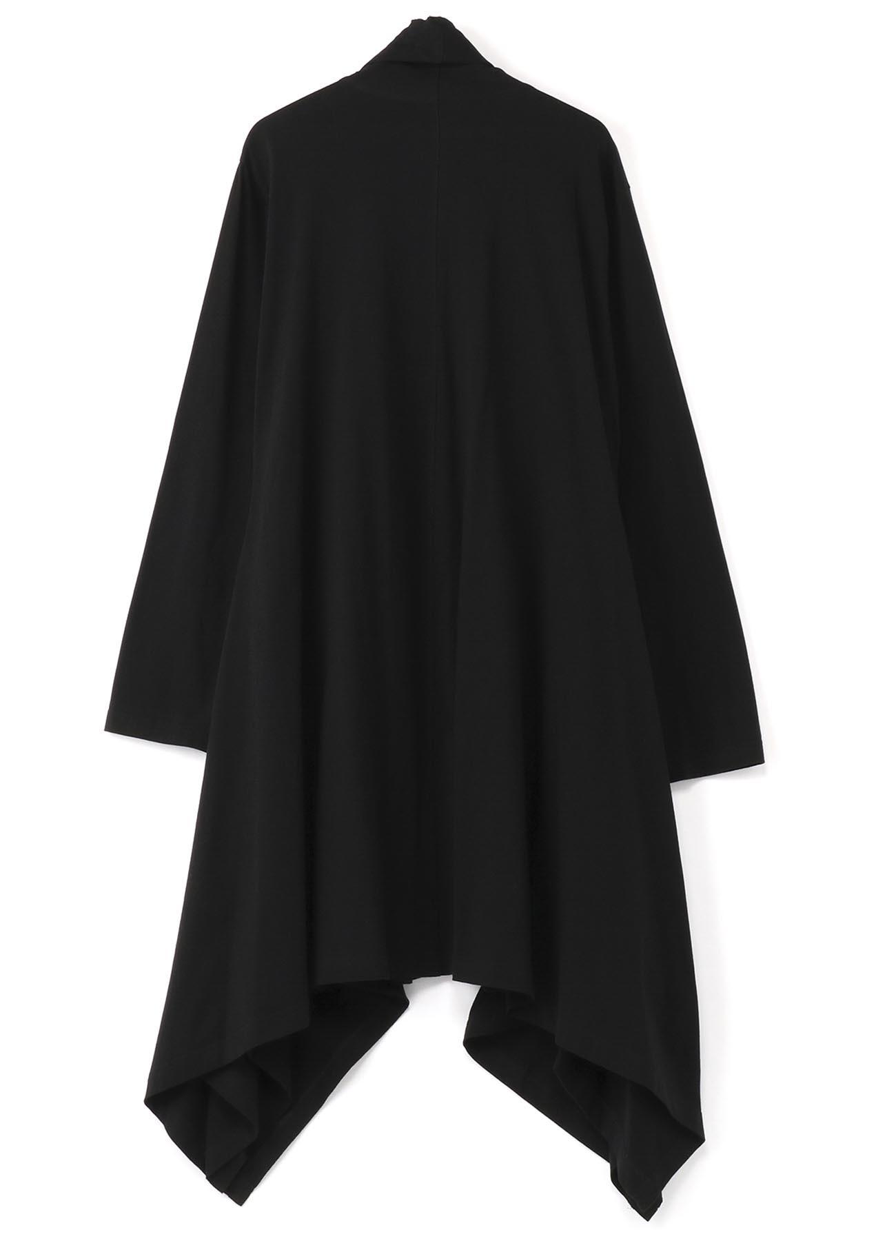 30/cotton Jersey Side Fluttering Dress