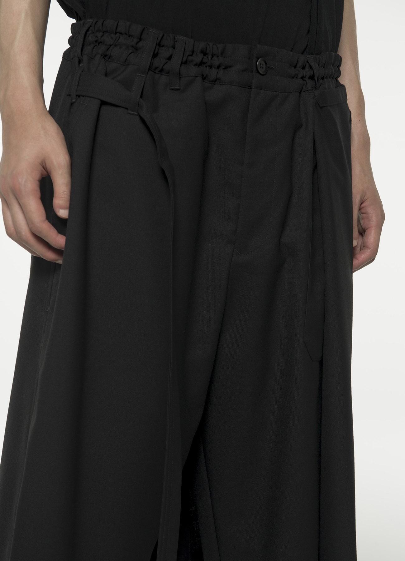 T/W Gabardine Wrap Pants type1