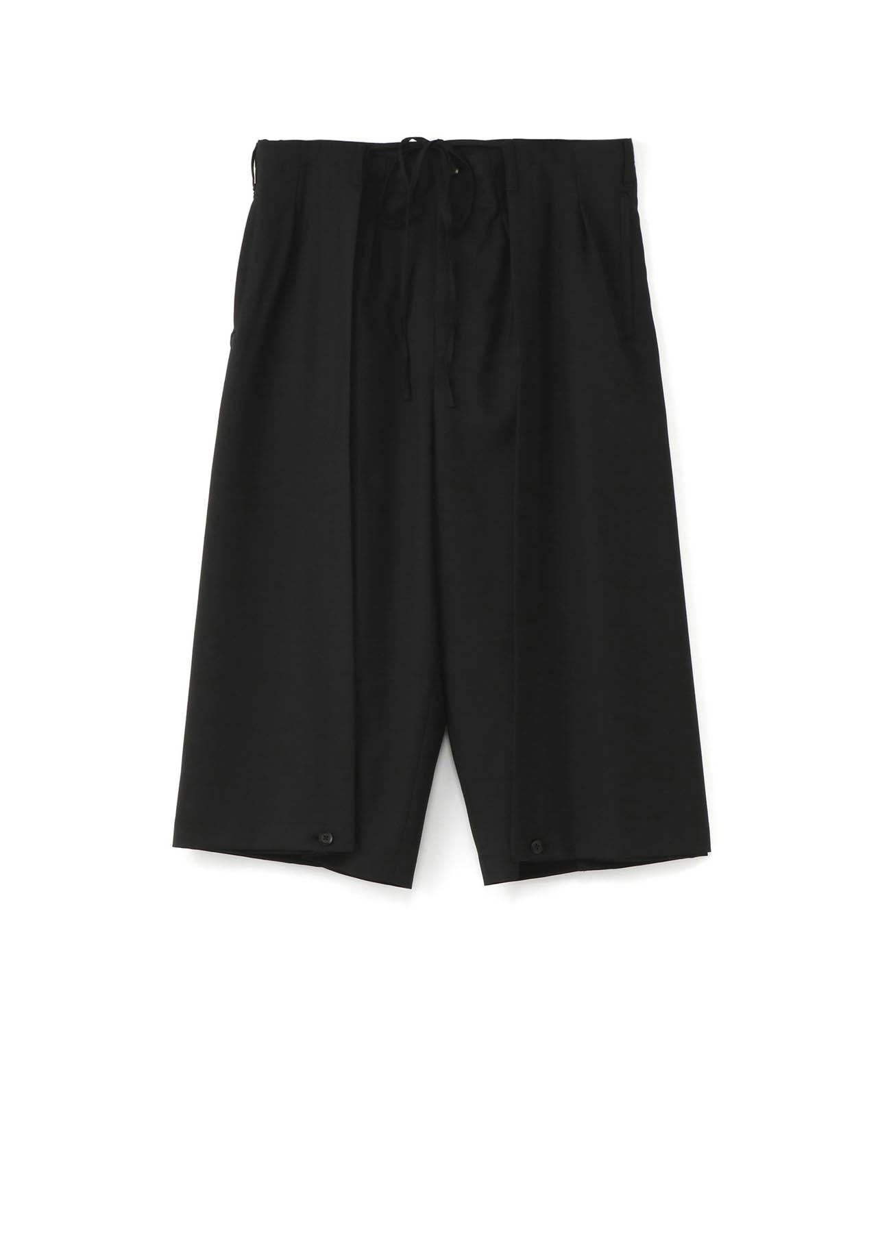 经典混纺灯笼裤