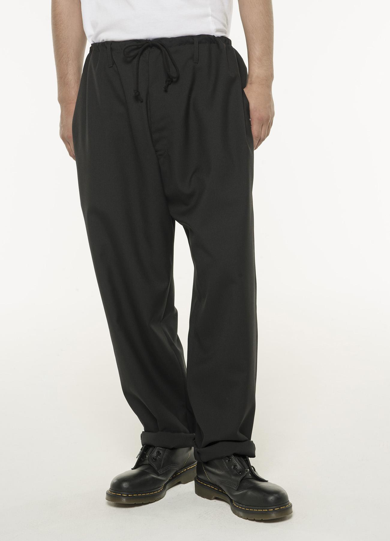 T/W Gabardine Waist string Pants