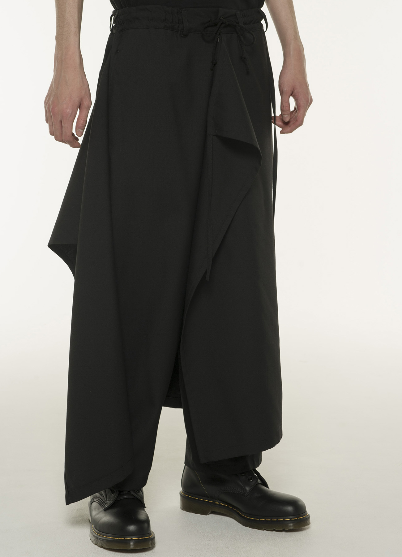T/W Gabardine Three Way Skirt Pants