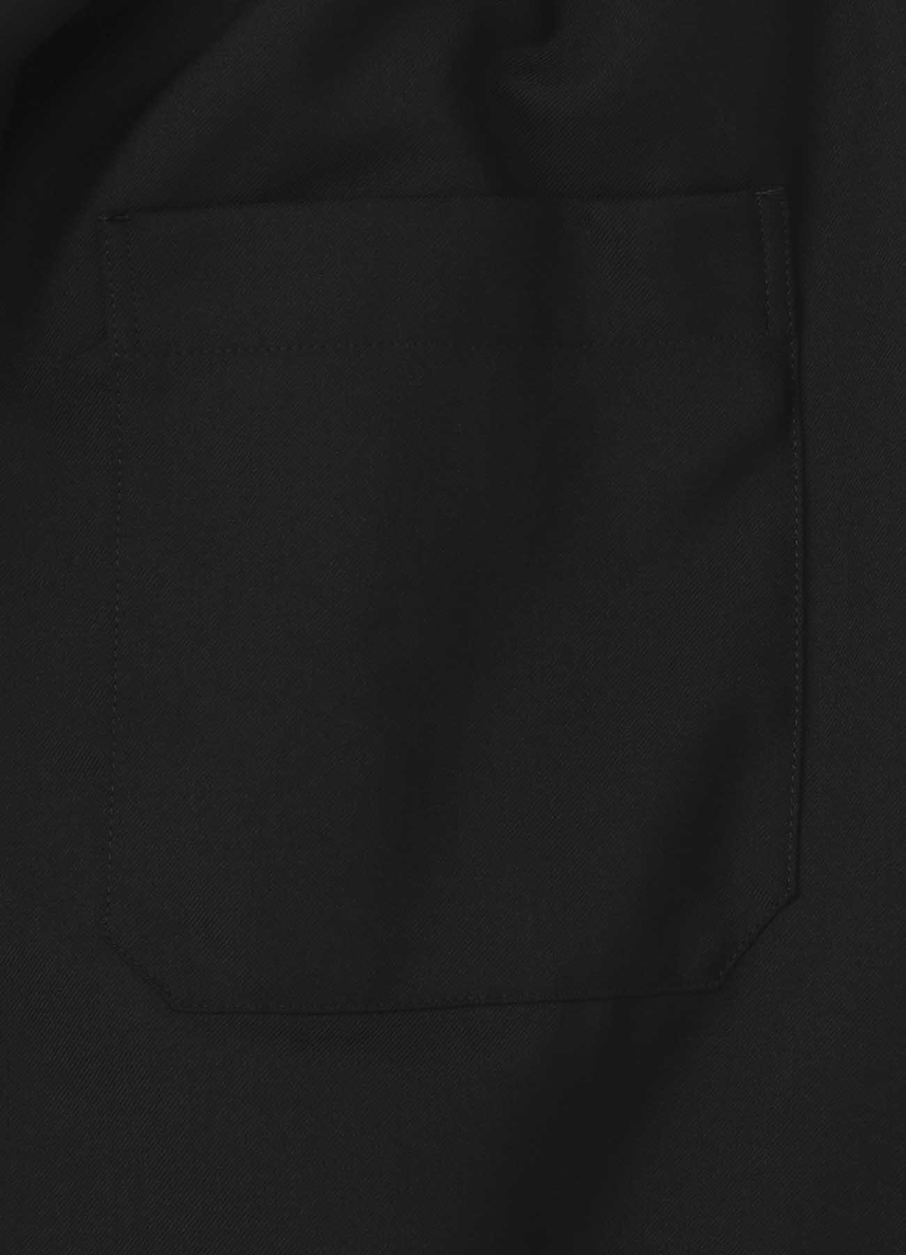 T / W?Gaberdine圆角半身裙裤