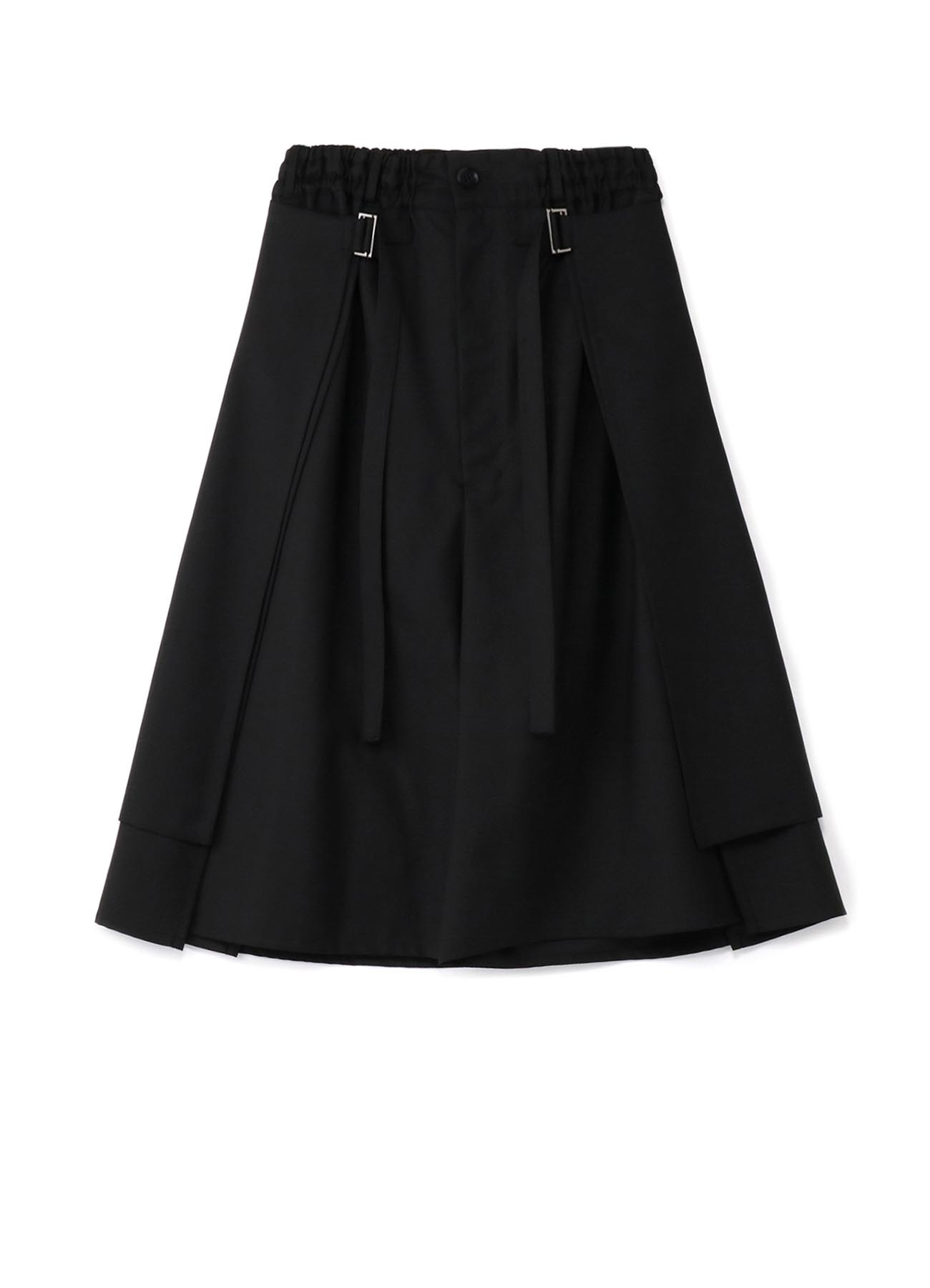 T/W Gabardine Round and Round Skirt Pants