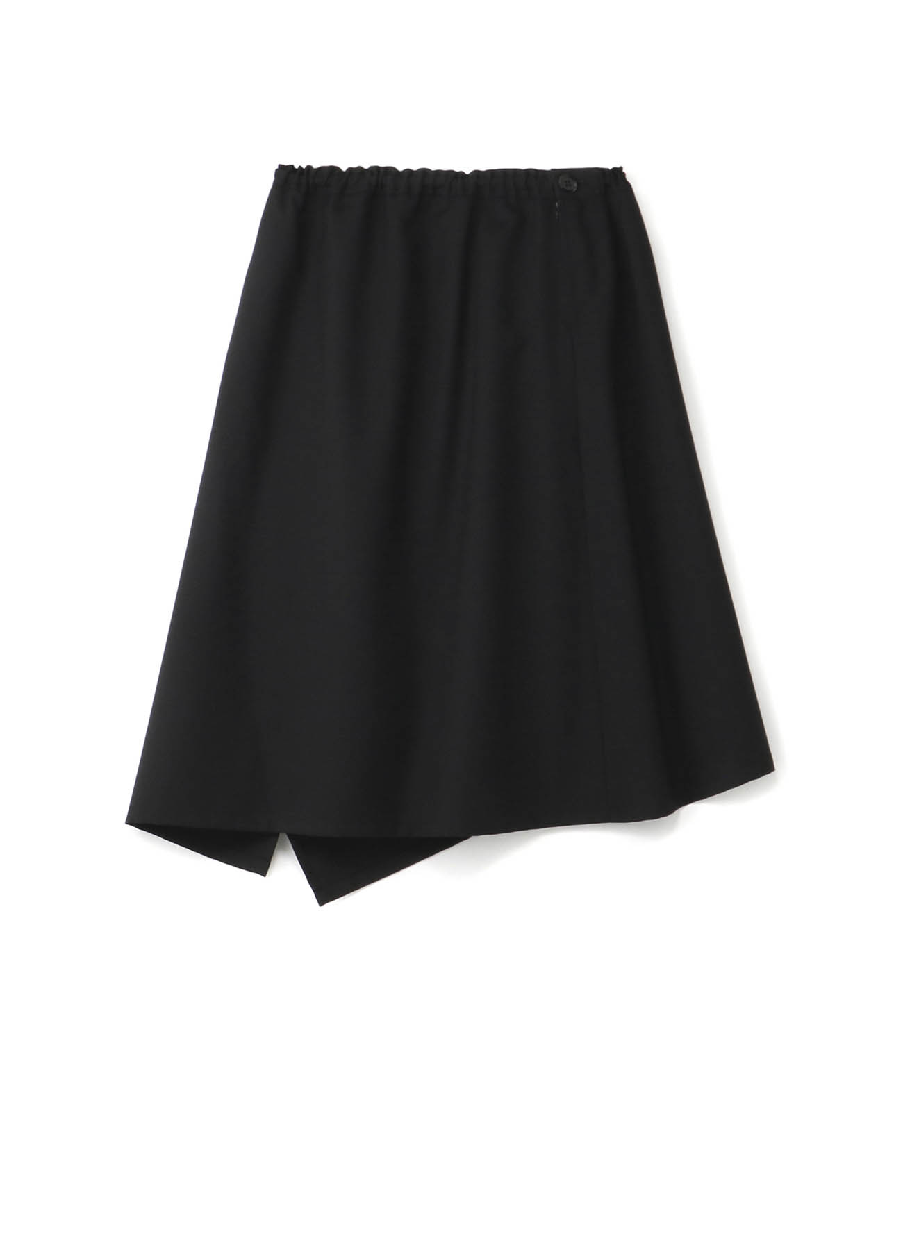 T/W Gabardine Left-Handed Gathered Skirt
