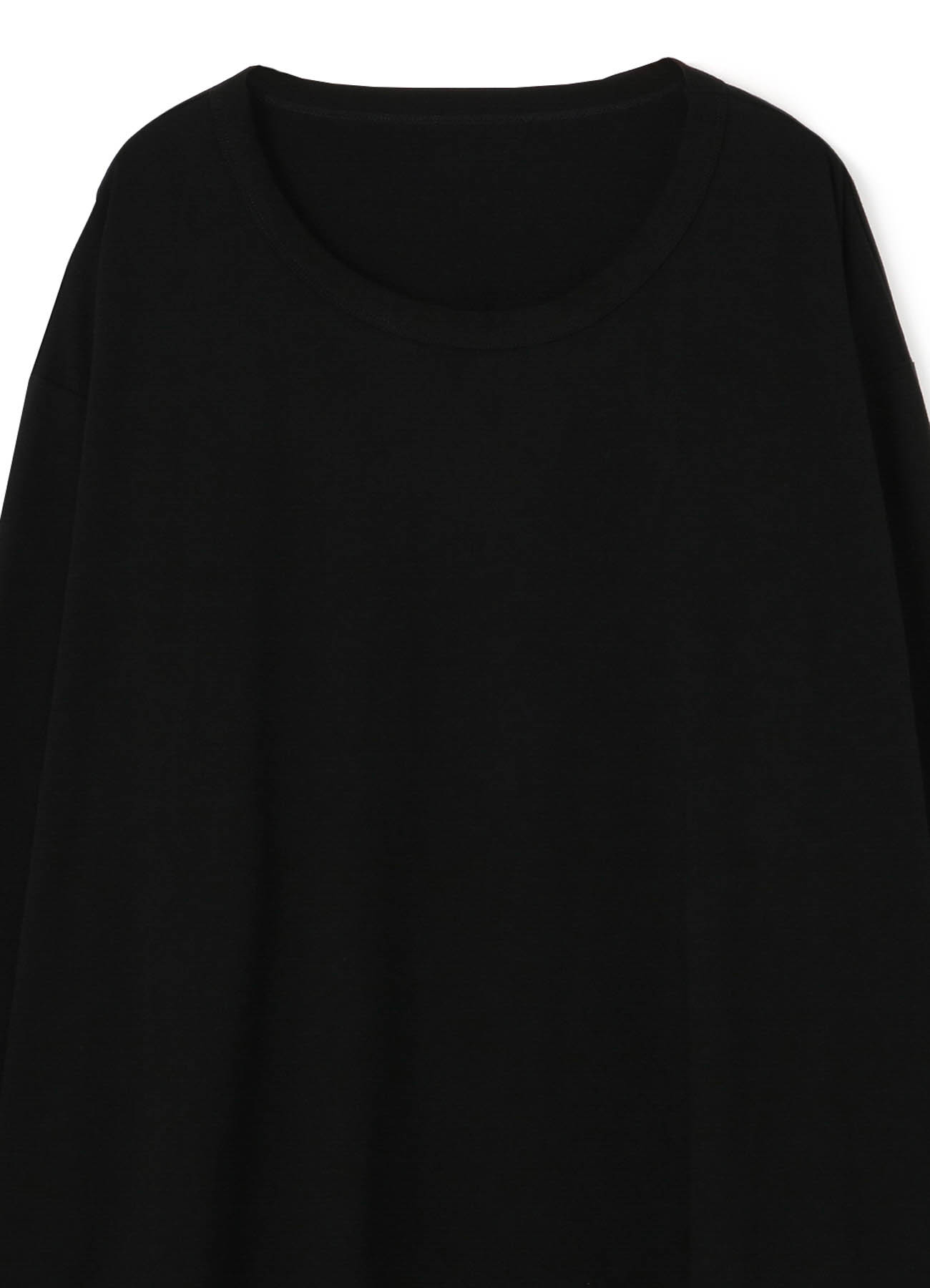 30/cotton Jersey Side Button Long Sleeve Jumbo T