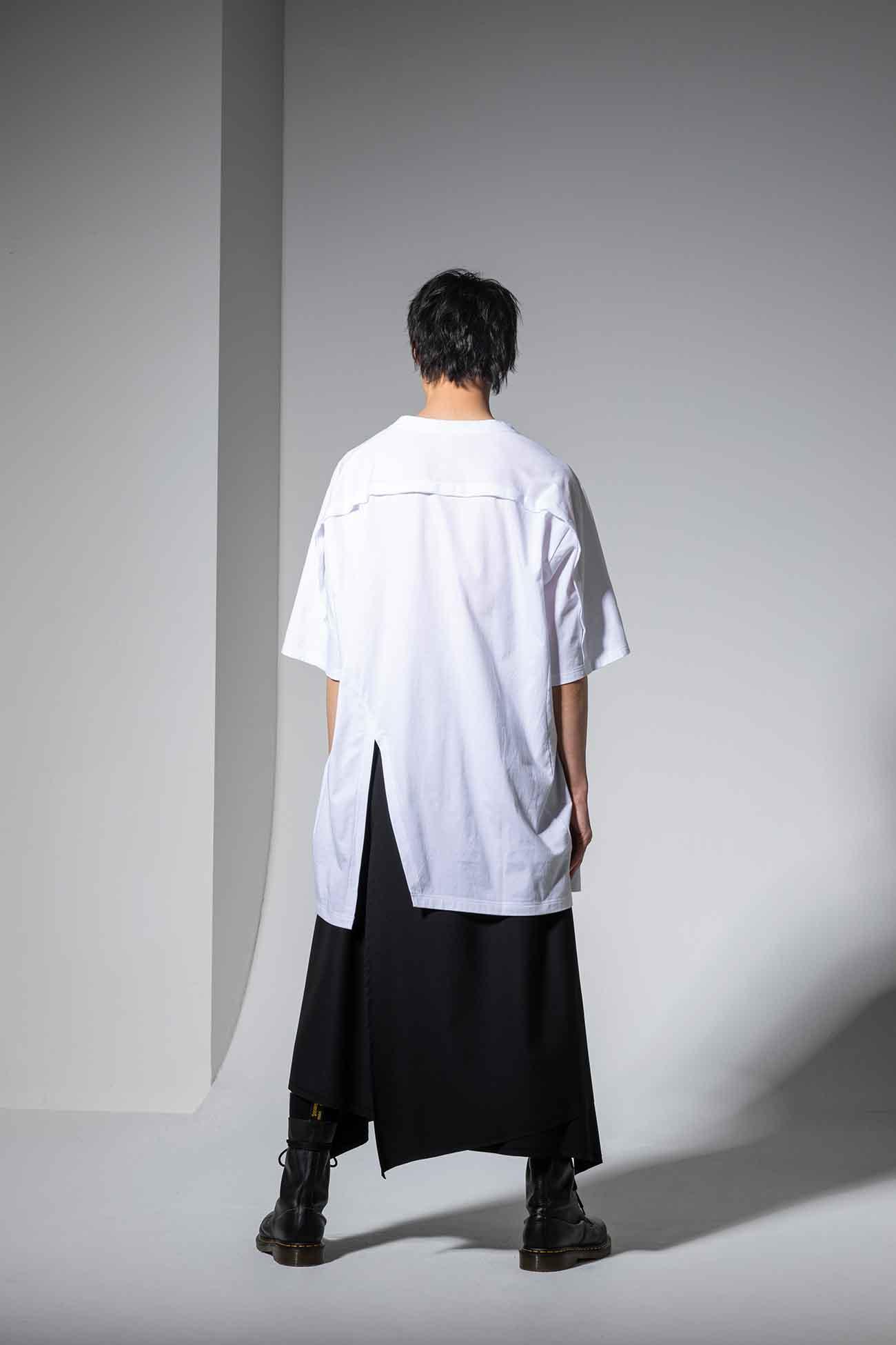 30/cotton Jersey Front Raglan Short Sleeve T