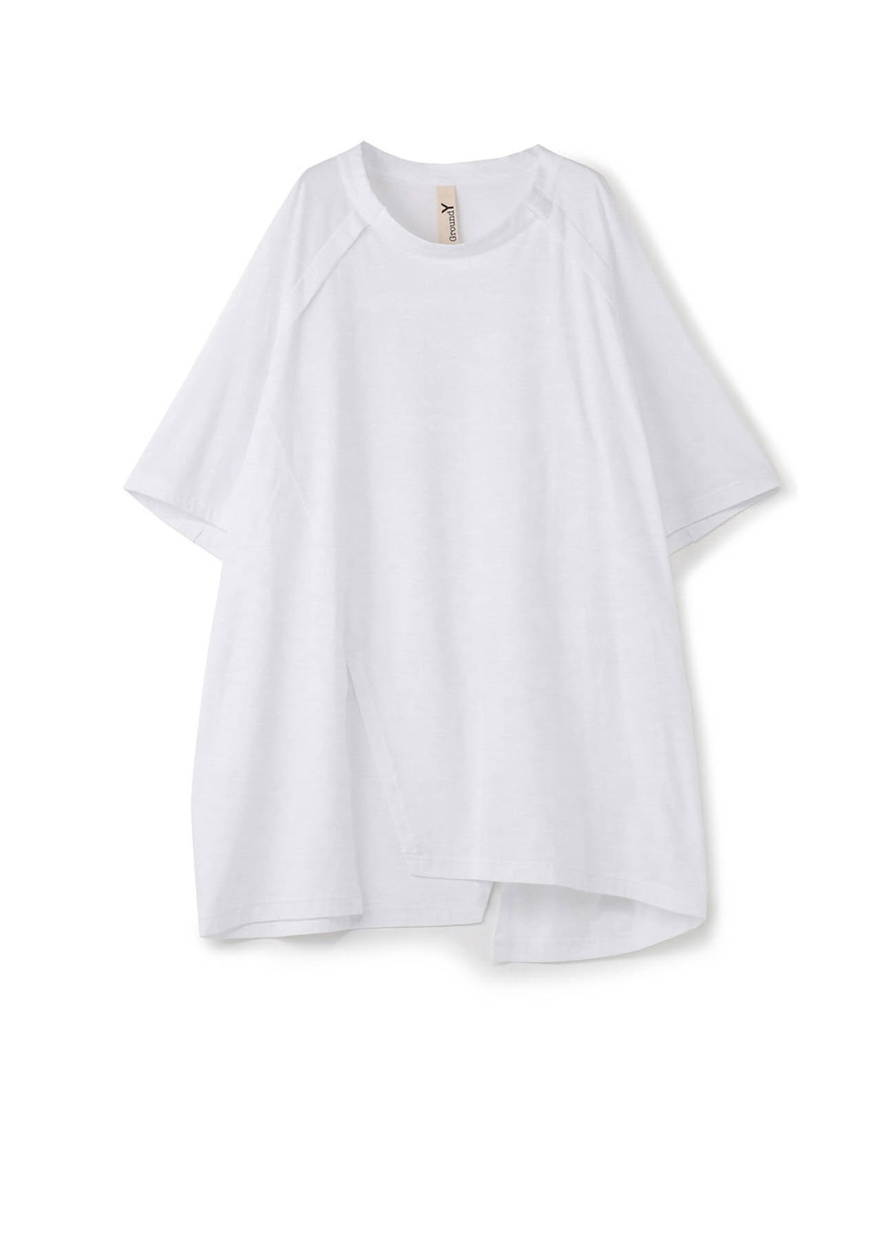 30/cotton Jersey Front Raglan Short Sleeve T