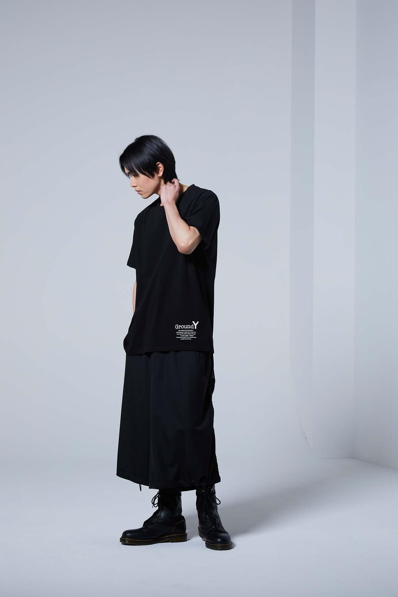 2pack T Ground Y / Yohji Yamamoto Logo