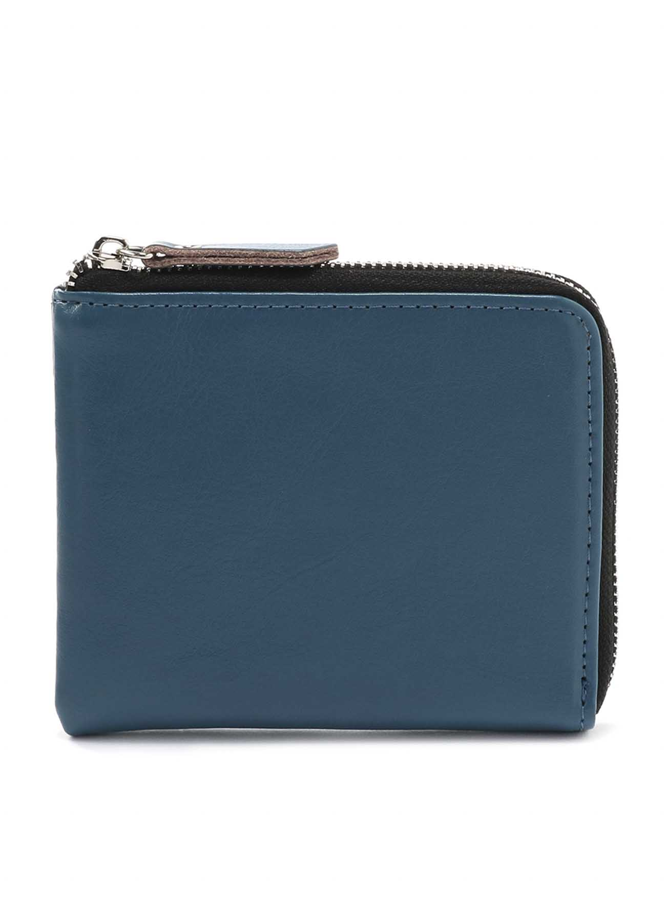 Cow Leather L Shaped Wallet