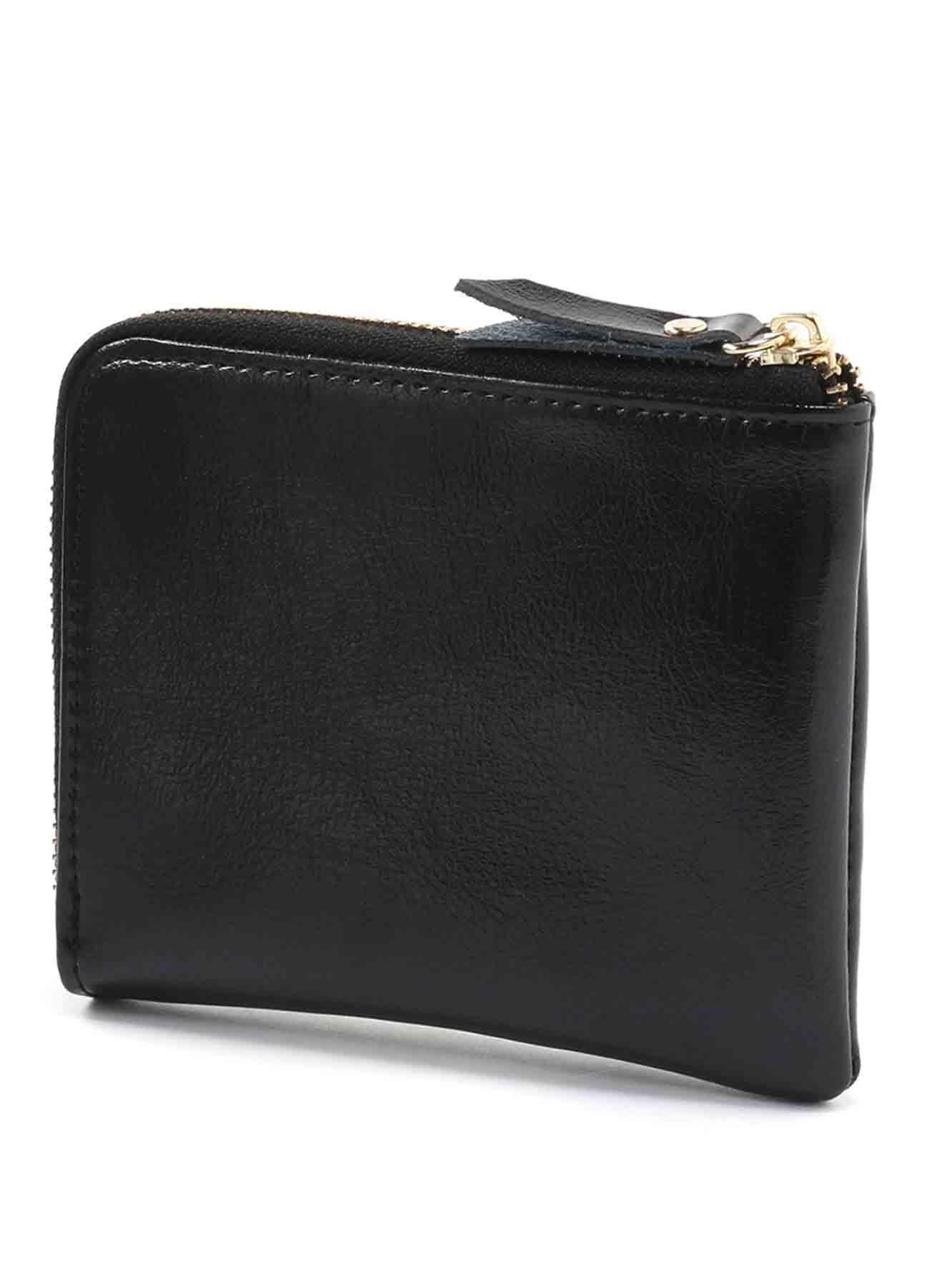 牛皮L形钱包