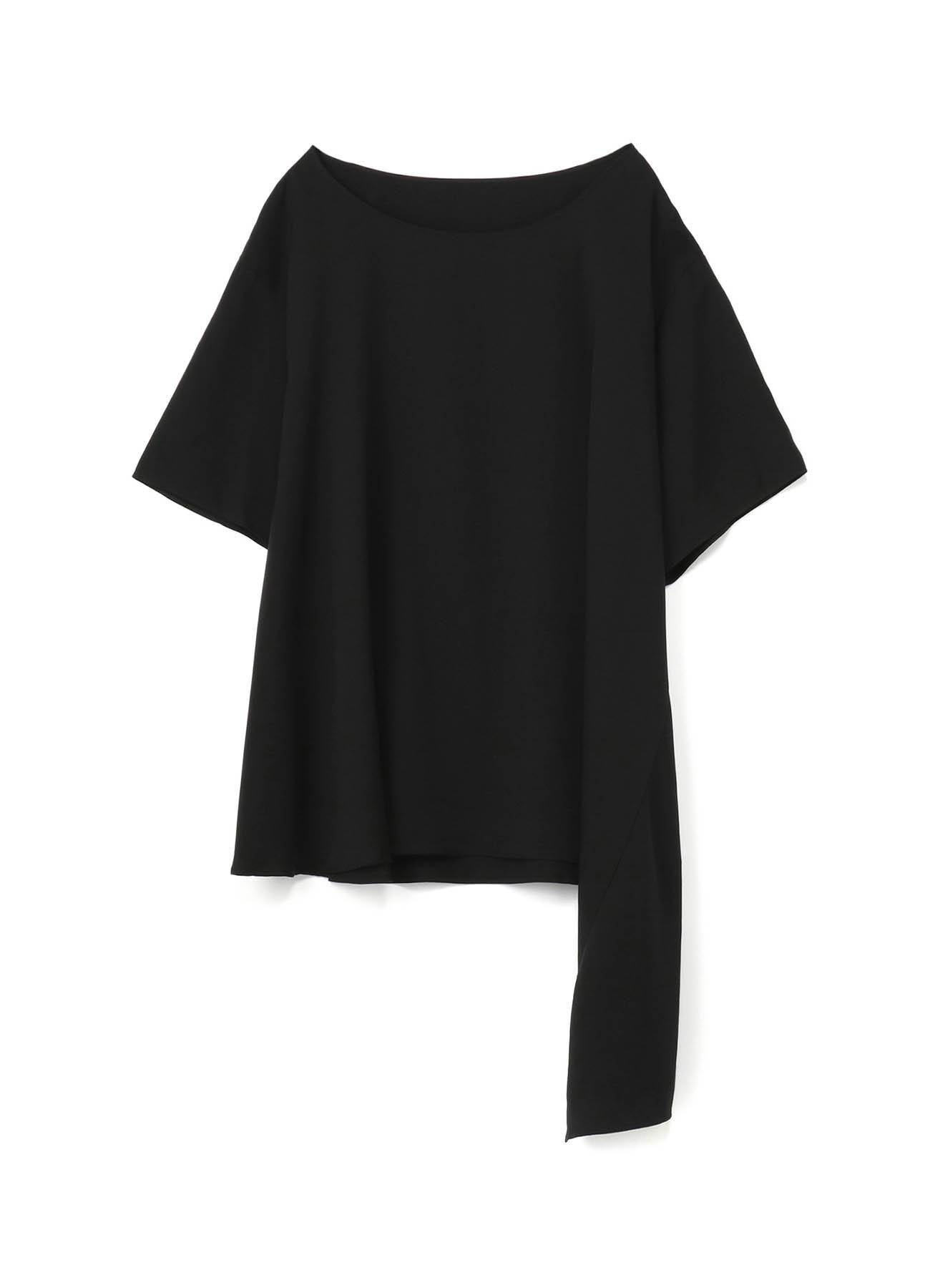天丝不对称设计半袖T恤