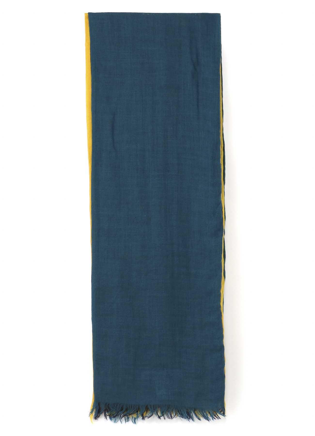 三色拼接围巾