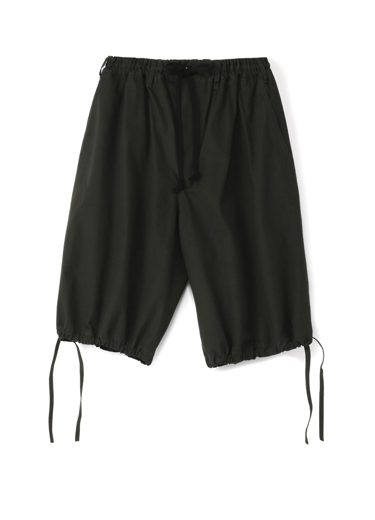 帆布抽绳短裤