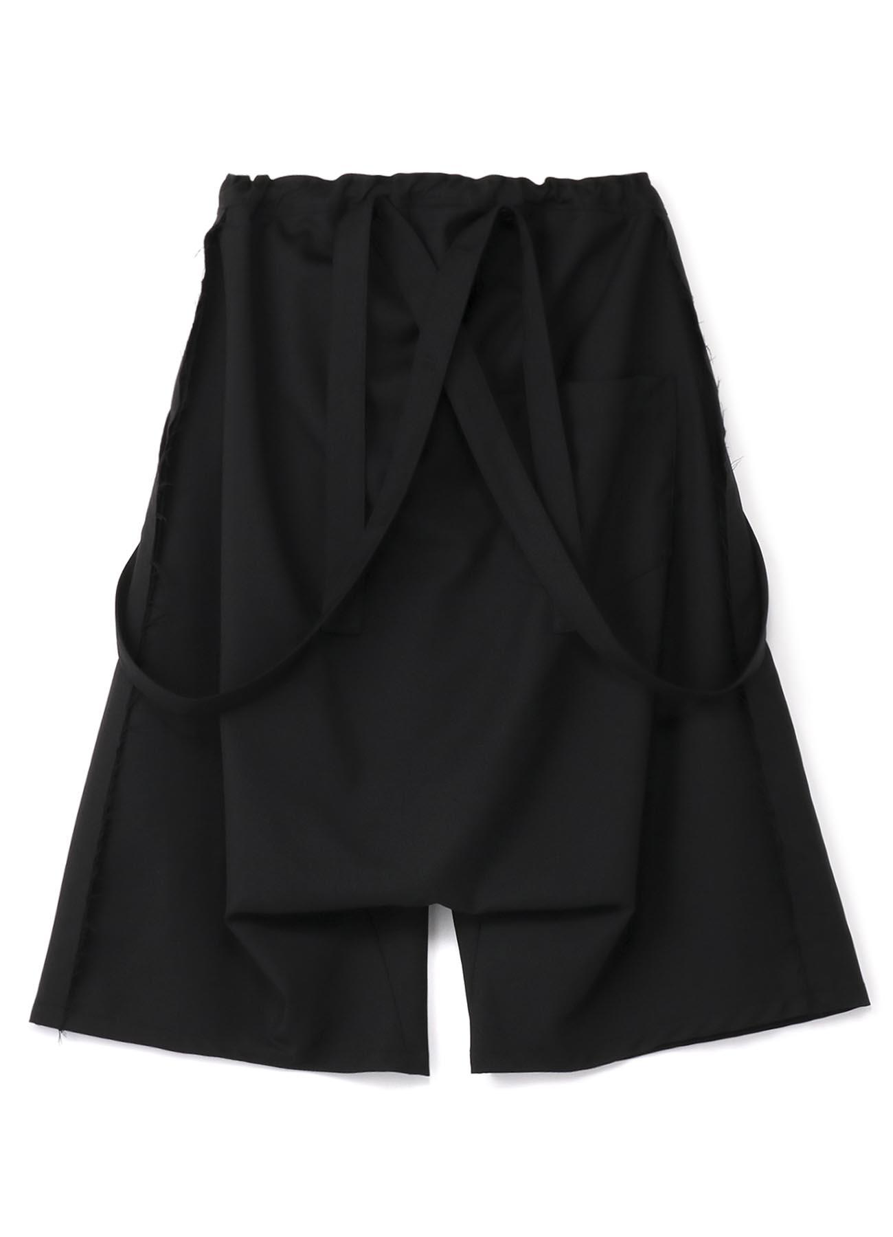 T / W?Gaberdine吊带裤Sarrouel裤子