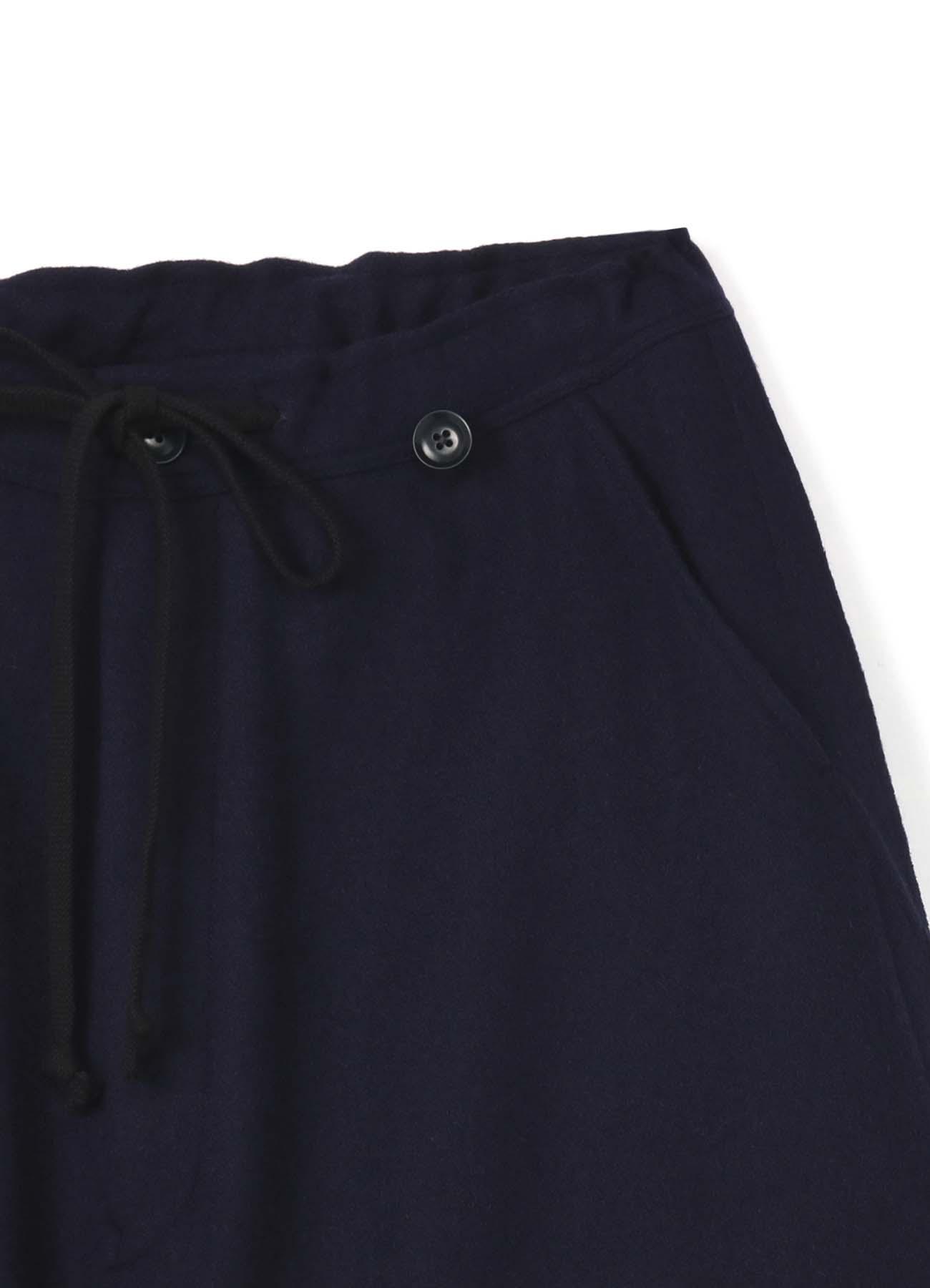 混纺背带哈伦裤