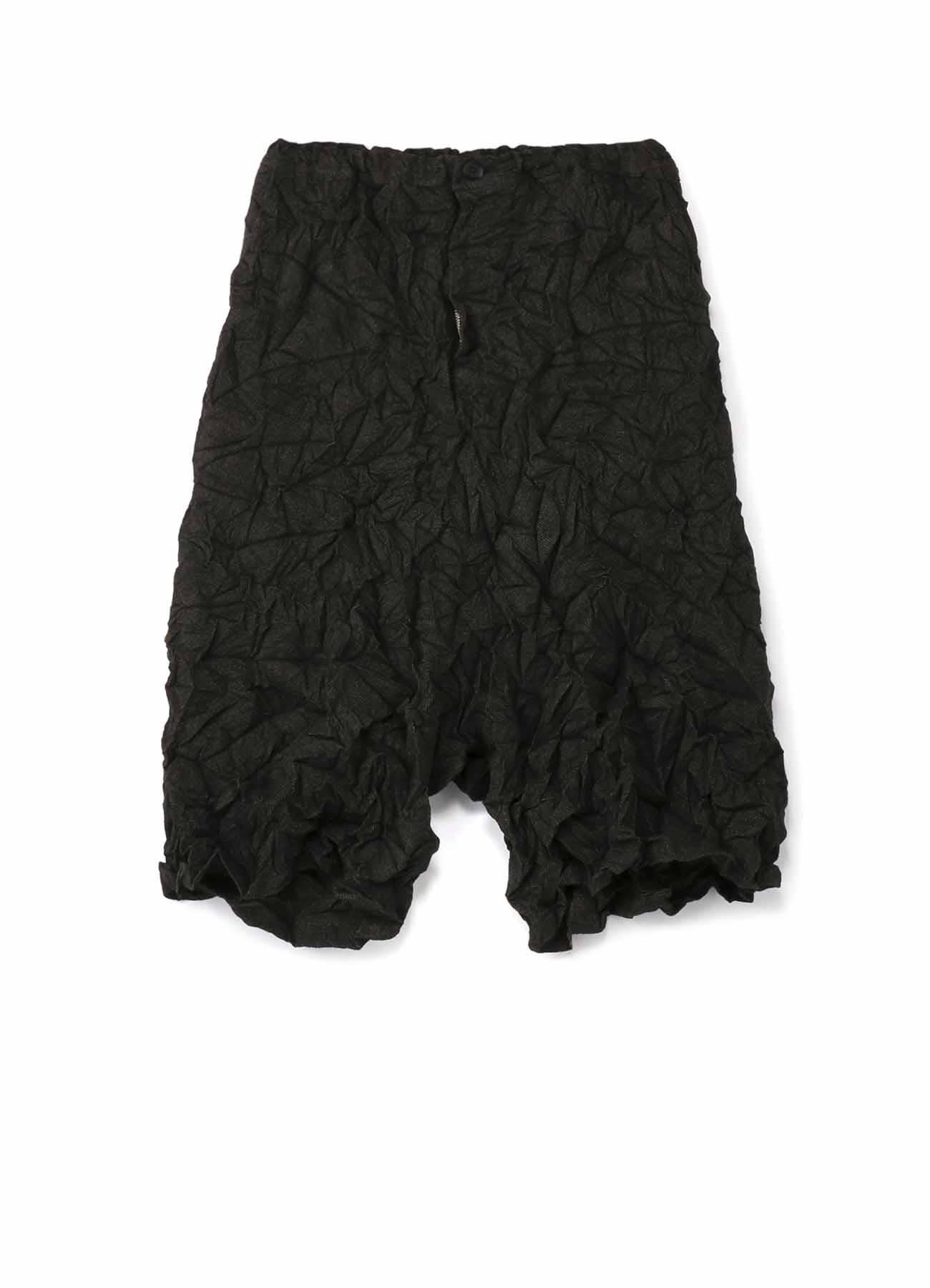 褶皱哈伦裤