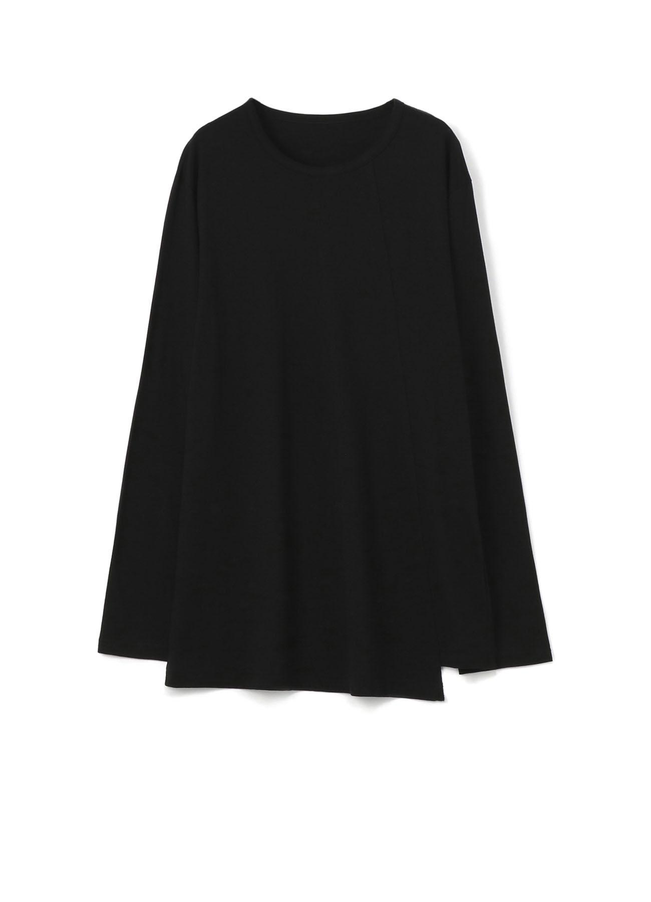 モダール天竺 裾段違い長袖カットソー