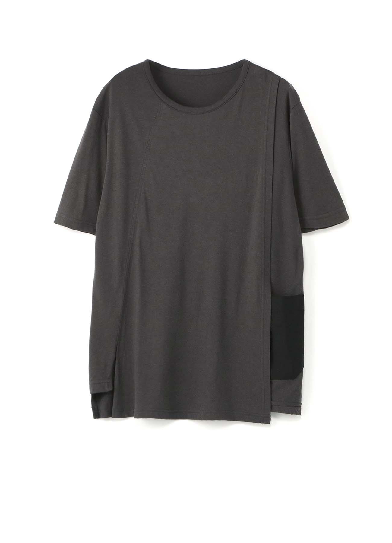 拼接短袖T恤