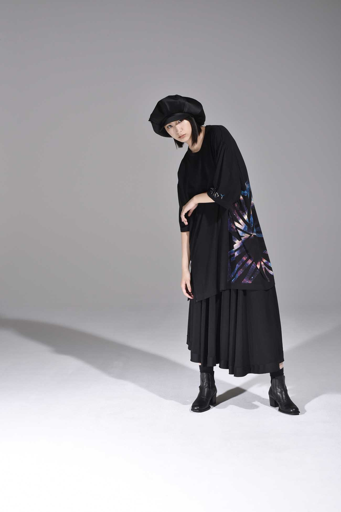 """Ground Y feat. BABYMETAL """"GALAXY"""" Collection Jumbo Cut Sew"""