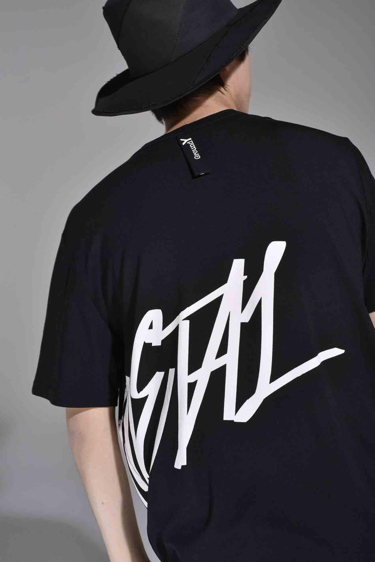 "Ground Y feat.BABYMETAL ""GALAXY"" Collection 宽松针织衫"