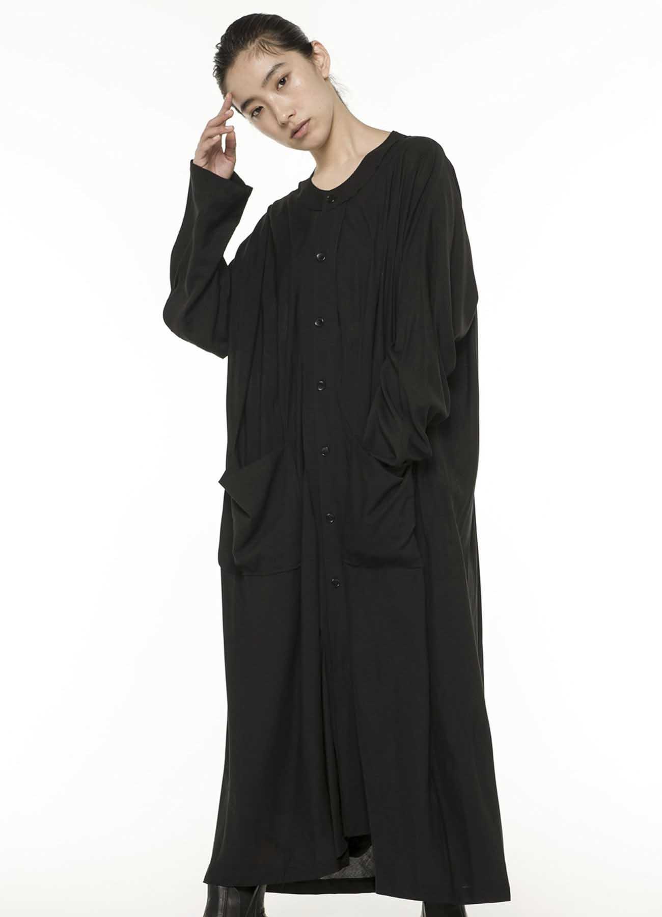 Rayon Lawn Big Long Dress